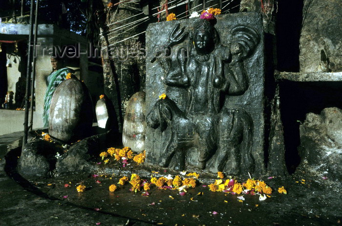 India - Uttaranchal - Rishikesh: Lingam / Linga - symbol for the ...
