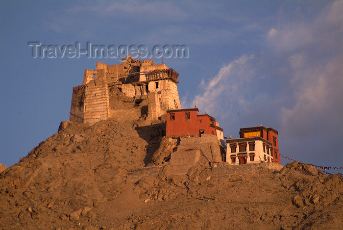 india348: India - Ladakh - Jammu and Kashmir: Leh - Namgyal Tsemo Gompa - Buddhist monastery - photos of Asia by Ade Summers - (c) Travel-Images.com - Stock Photography agency - Image Bank