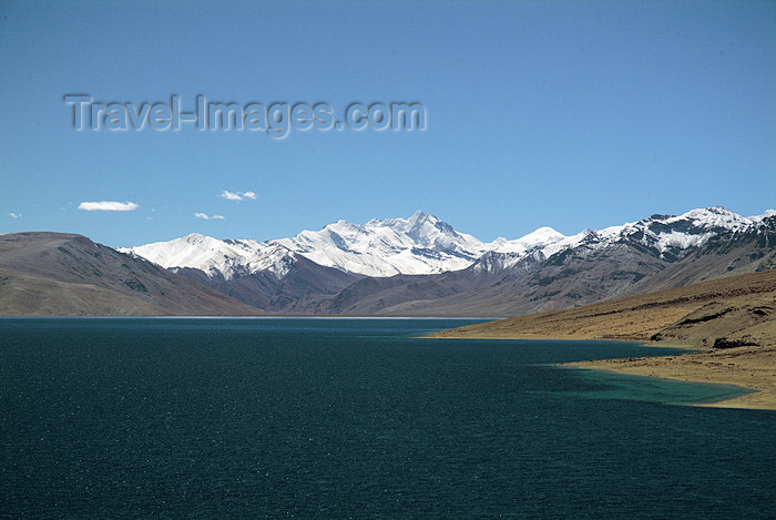 india357: India - Ladakh - Jammu and Kashmir: Tso Moriri  saltwater lake - situated at an altitude of 4,510 m - photos of Asia by Ade Summers - (c) Travel-Images.com - Stock Photography agency - Image Bank