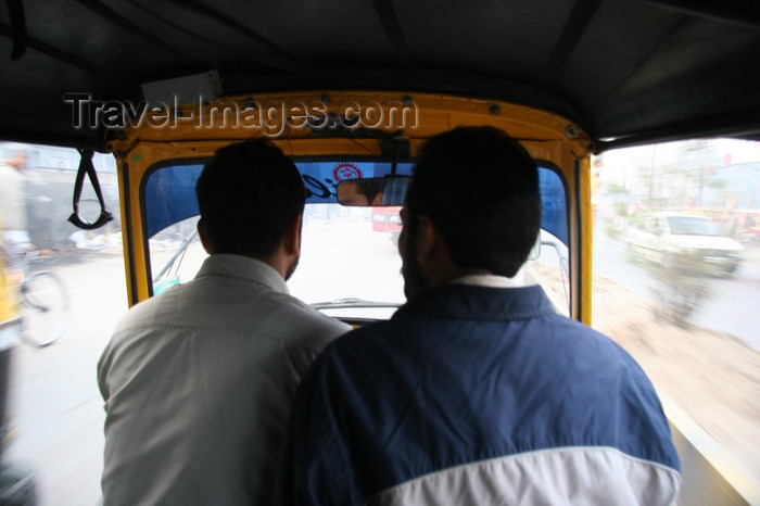 india419: Chandigarh - India: motor rickshaw ride - photo by J.Cave - (c) Travel-Images.com - Stock Photography agency - Image Bank
