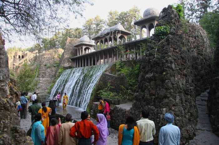 india420: Chandigarh - India: cascade at the Rock Gardens - Sector 1 - photo by J.Cave - (c) Travel-Images.com - Stock Photography agency - Image Bank
