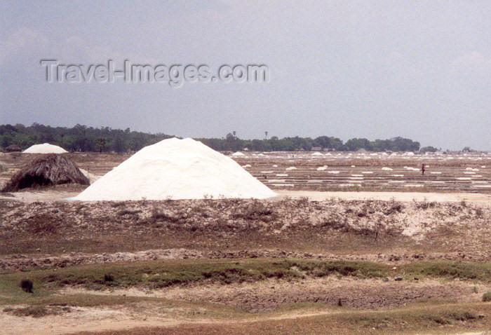india43: India - Mahabalipuram / Mamallapuram: salt pans (photo by Miguel Torres) - (c) Travel-Images.com - Stock Photography agency - Image Bank