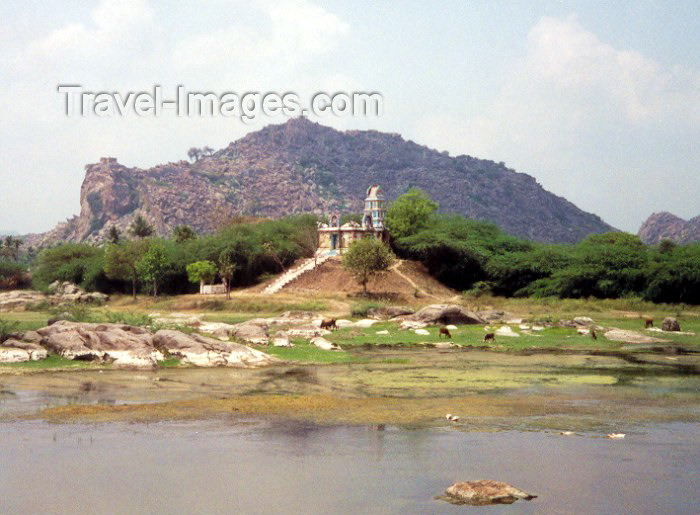 india44: India - Tamil Nadu: Lake side (photo by Miguel Torres) - (c) Travel-Images.com - Stock Photography agency - Image Bank