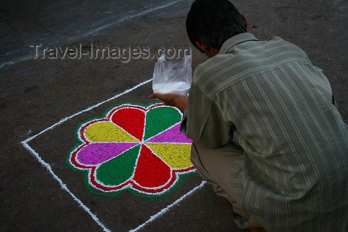 india450: Pushkar, Rajasthan, India: Diwali decoration - photo by M.Wright - (c) Travel-Images.com - Stock Photography agency - Image Bank