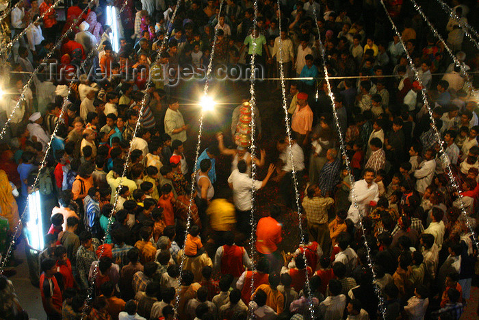 india457: Pushkar, Rajasthan, India: festival at night - photo by M.Wright - (c) Travel-Images.com - Stock Photography agency - Image Bank