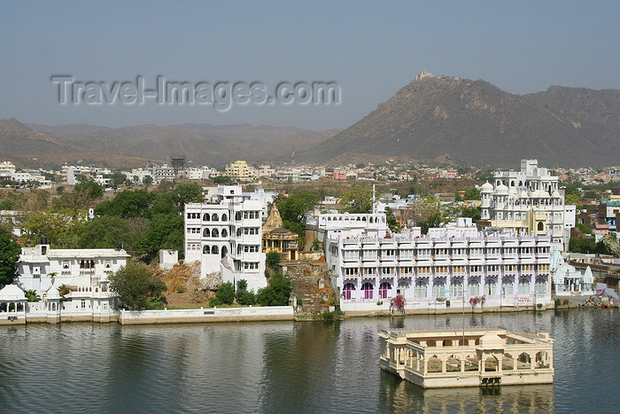 india460: Udaipur, Rajasthan, India: City Palace - photo by M.Wright - (c) Travel-Images.com - Stock Photography agency - Image Bank