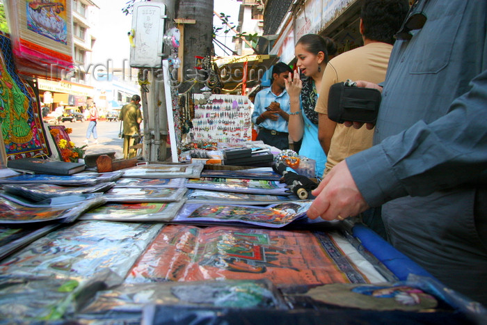 india468: Mumbai / Bombay, Maharashtra, India: street sellers - photo by J.Cave - (c) Travel-Images.com - Stock Photography agency - Image Bank