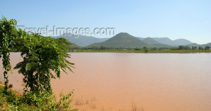 india470: Western Ghats, Karnataka, India: lake at the foothills of the Western Ghats - photo by J.Cave - (c) Travel-Images.com - Stock Photography agency - Image Bank
