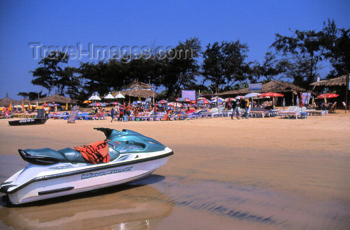 india75: India - Goa: Baga beach - jet-ski - photo by T.Brown - (c) Travel-Images.com - Stock Photography agency - Image Bank