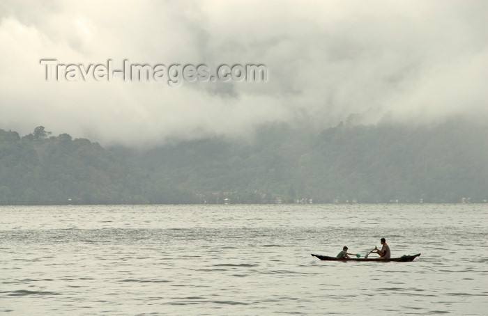 indonesia39: Indonesia - Western Sumatra: Lake Maninjau - small boat  - photo by P.Jolivet - (c) Travel-Images.com - Stock Photography agency - Image Bank