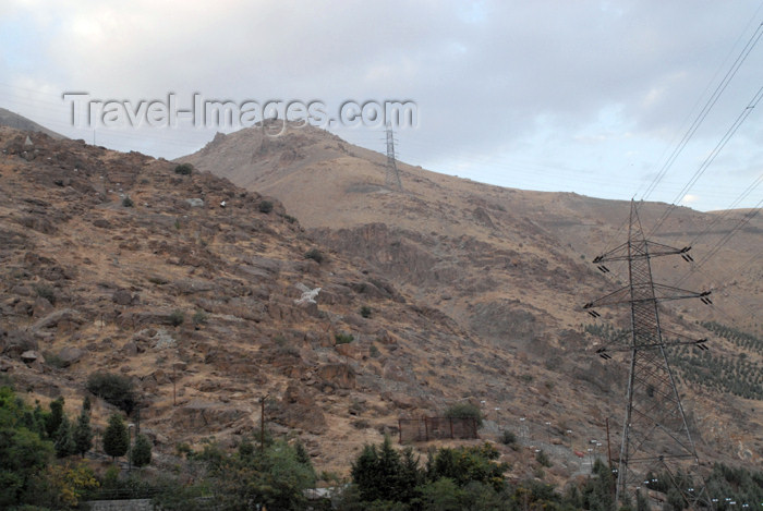 iran104: Iran - Tehran - mountains north of the city - photo by M.Torres - (c) Travel-Images.com - Stock Photography agency - Image Bank