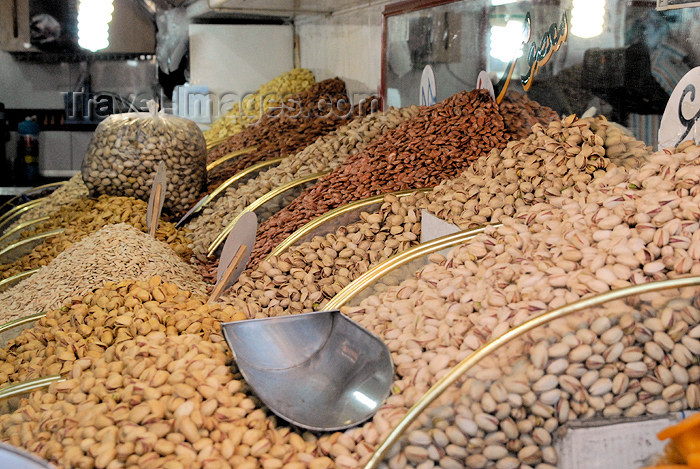 iran107: Iran - Tehran - nuts in the bazaar - photo by M.Torres - (c) Travel-Images.com - Stock Photography agency - Image Bank