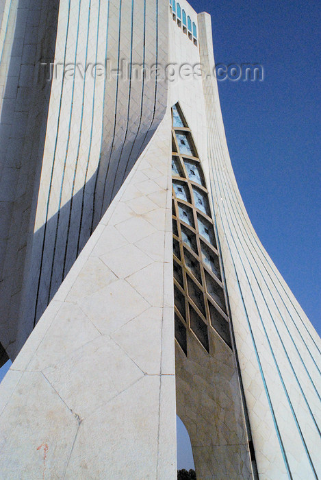iran118: Iran - Tehran - Shahyaad Monument - Azadi square - evoking Iran's  Sassanid architecture - photo by M.Torres - (c) Travel-Images.com - Stock Photography agency - Image Bank