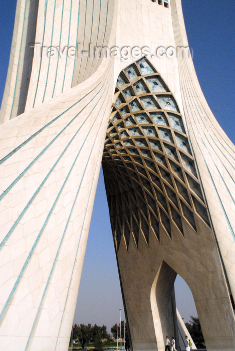 iran122: Iran - Tehran - Shahyad Monument - Azadi square -  entrance to the city - photo by M.Torres - (c) Travel-Images.com - Stock Photography agency - Image Bank