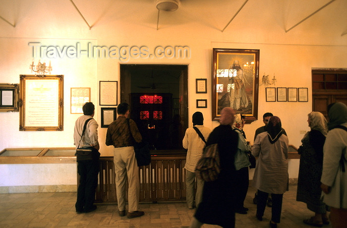 iran128: Iran - Yazd: Zoroastrian faithful at a fire sanctuary - photo by W.Allgower - (c) Travel-Images.com - Stock Photography agency - Image Bank