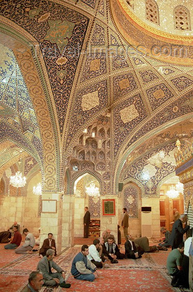 iran13: Iran - Isfahan: Mosque - inside - photo by J.Kaman - (c) Travel-Images.com - Stock Photography agency - Image Bank