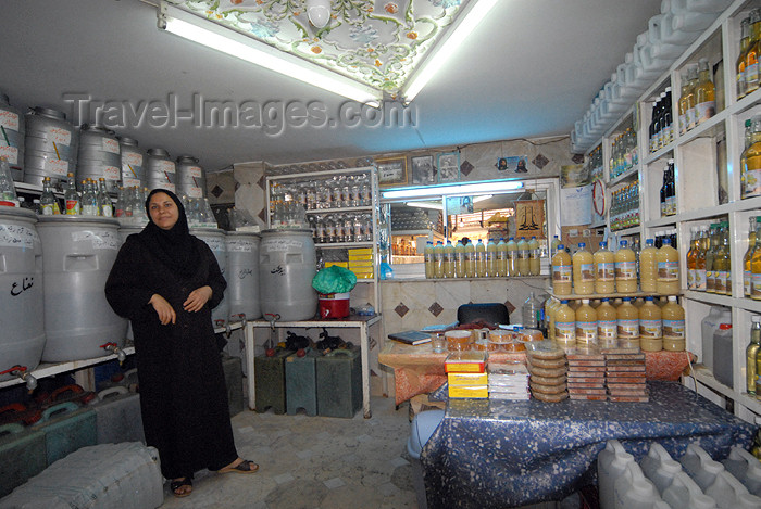 iran163: Iran - Shiraz: shopkeeper - pickles shop - photo by M.Torres - (c) Travel-Images.com - Stock Photography agency - Image Bank