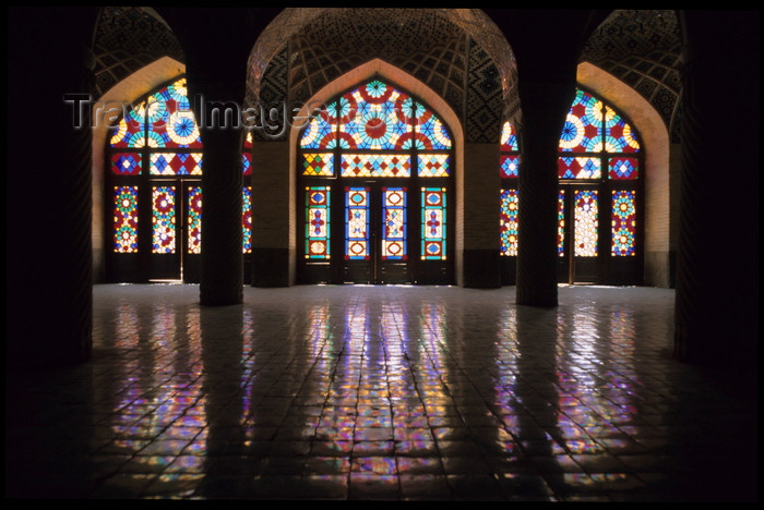 iran184: Iran - Shiraz: Nasir al-Mulk Mosque - by architect Mohammad Hasan - photo by W.Allgower - (c) Travel-Images.com - Stock Photography agency - Image Bank