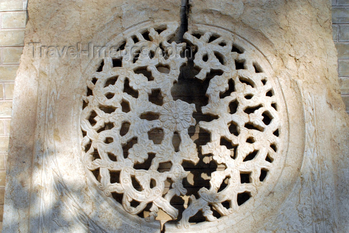 iran201: Iran - Shiraz: broken lace-work of marble - Qavam House - Narenjestan e Qavam - photo by M.Torres - (c) Travel-Images.com - Stock Photography agency - Image Bank