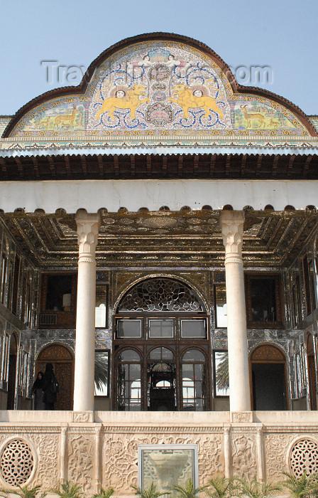 iran204: Iran - Shiraz: verandah - Qavam House - Narenjestan e Qavam - photo by M.Torres - (c) Travel-Images.com - Stock Photography agency - Image Bank