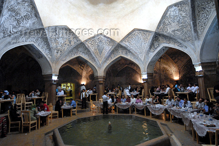 iran212: Iran - Shiraz: main hall of the Vakil baths, now a restaurant - photo by M.Torres - (c) Travel-Images.com - Stock Photography agency - Image Bank