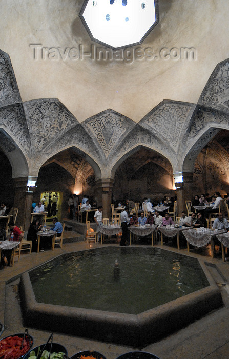 iran216: Iran - Shiraz: Vakil baths - hammame Vakil, now a restaurant - photo by M.Torres - (c) Travel-Images.com - Stock Photography agency - Image Bank
