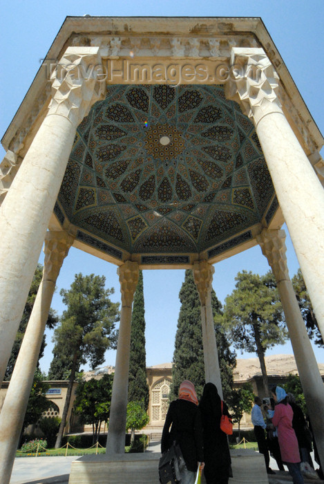 iran220: Iran - Shiraz: Mausoleum of Hafez - people at the poet's tomb - photo by M.Torres - (c) Travel-Images.com - Stock Photography agency - Image Bank