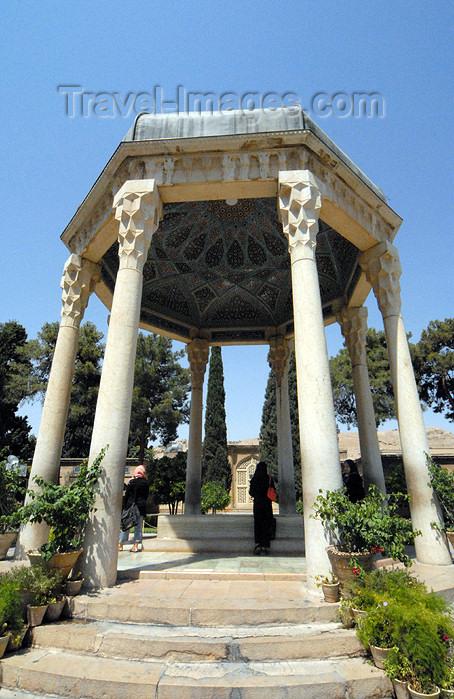 iran221: Iran - Shiraz: Mausoleum of Hafez, built by Karim Khan Zand - the tomb - Aramgah-e Hafez - photo by M.Torres - (c) Travel-Images.com - Stock Photography agency - Image Bank