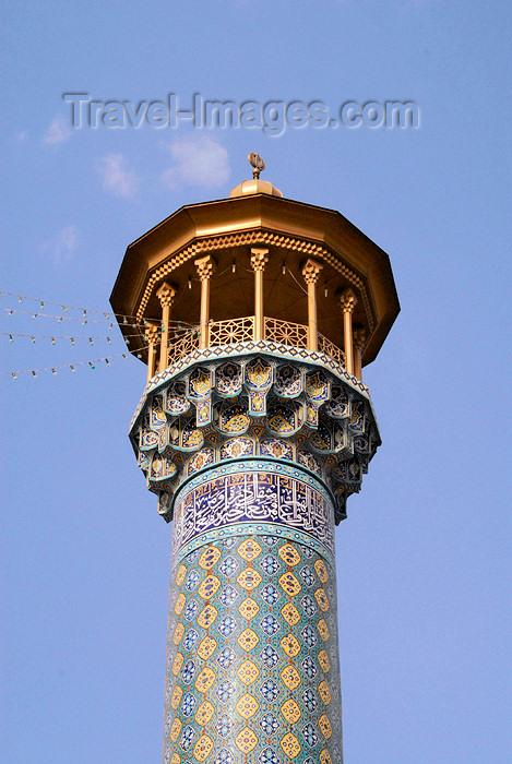 iran225: Iran - Shiraz: minaret - mausoleum of Sayyed Aladdin Hossein - photo by M.Torres - (c) Travel-Images.com - Stock Photography agency - Image Bank