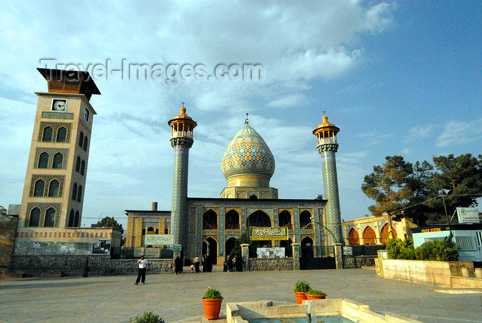 iran230: Iran - Shiraz: mausoleum of Sayyed Aladdin Hossein and Astaneh Square - photo by M.Torres - (c) Travel-Images.com - Stock Photography agency - Image Bank