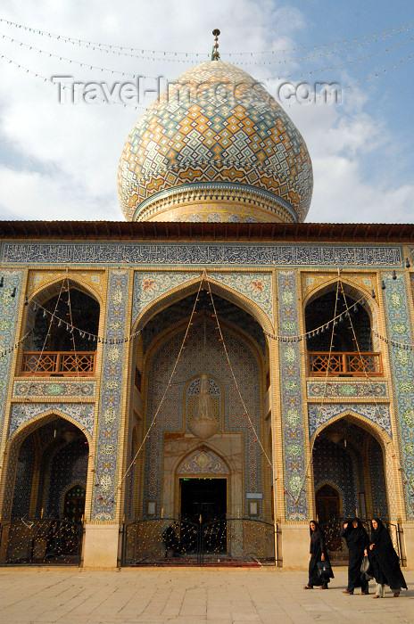 iran232: Iran - Shiraz: entrance - mausoleum of Sayyed Aladdin Hossein - photo by M.Torres - (c) Travel-Images.com - Stock Photography agency - Image Bank