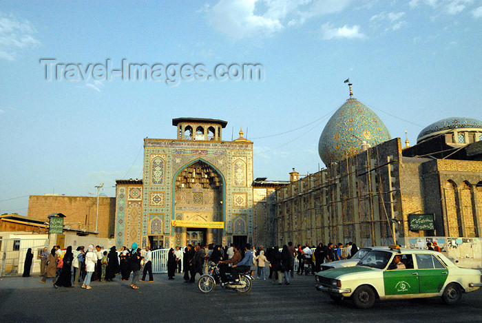 iran248: Iran - Shiraz: Shah-e-Cheragh mausoleum and Ahmadi Square - built by Atabak Abu Bakr Sa'd ben Zangi - photo by M.Torres - (c) Travel-Images.com - Stock Photography agency - Image Bank