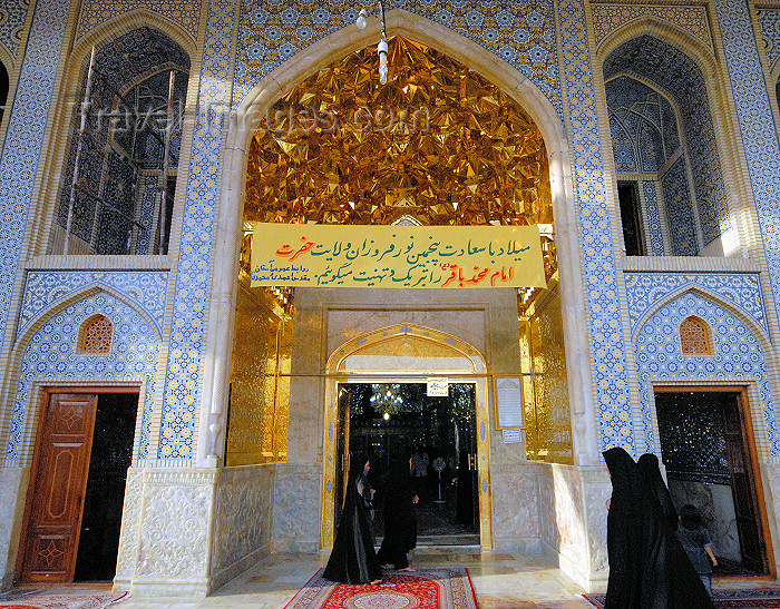 iran249: Iran - Shiraz: Shah-e-Cheragh mausoleum - photo by M.Torres - (c) Travel-Images.com - Stock Photography agency - Image Bank