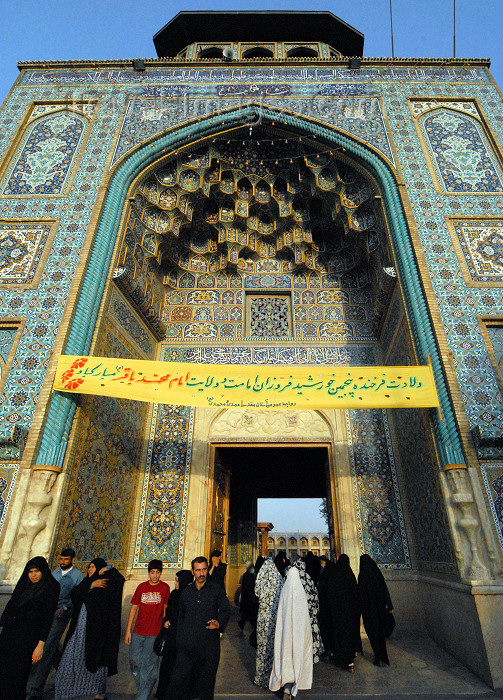 iran250: Iran - Shiraz: Shah-e-Cheragh mausoleum - photo by M.Torres - (c) Travel-Images.com - Stock Photography agency - Image Bank