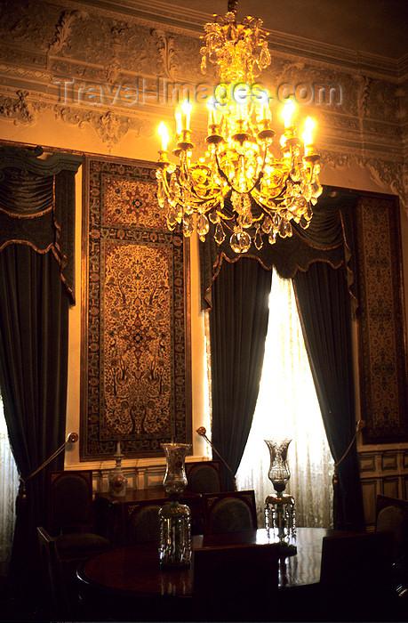 iran266: Iran - Tehran: interior of Sadabad Palace - photo by W.Allgower - (c) Travel-Images.com - Stock Photography agency - Image Bank