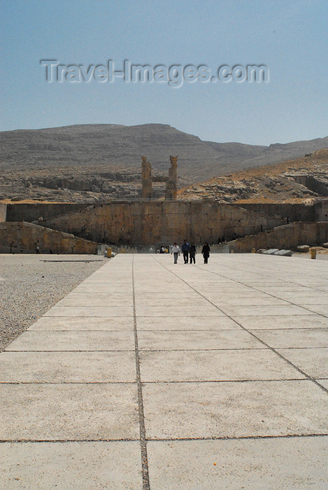 iran269: Iran - Persepolis / Parsa / Parseh, Takht-e Jamshid: arriving - Stairs of All Nations - photo by M.Torres - (c) Travel-Images.com - Stock Photography agency - Image Bank