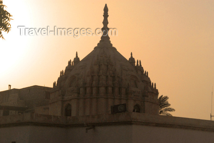 iran390: Iran -  Bandar Abbas: roof of the Hindu temple - photo by M.Torres - (c) Travel-Images.com - Stock Photography agency - Image Bank