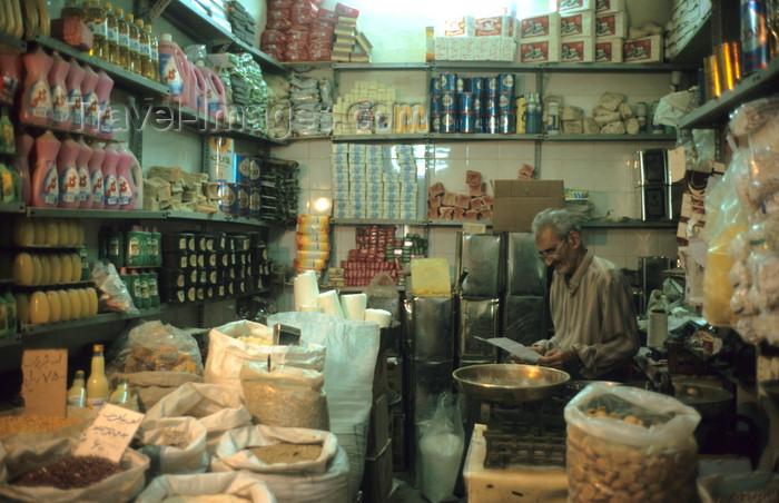 iran398: Iran - Kashan, Isfahan province: grocery at the bazaar - photo by W.Allgower - (c) Travel-Images.com - Stock Photography agency - Image Bank