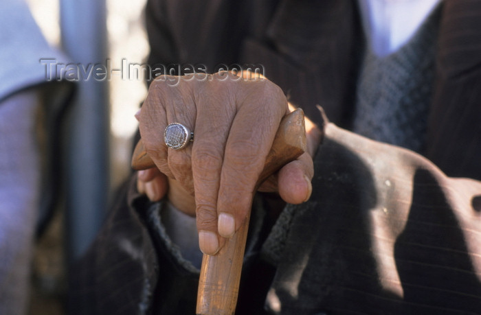 iran407: Iran: man with a seal-rign - photo by W.Allgower - (c) Travel-Images.com - Stock Photography agency - Image Bank
