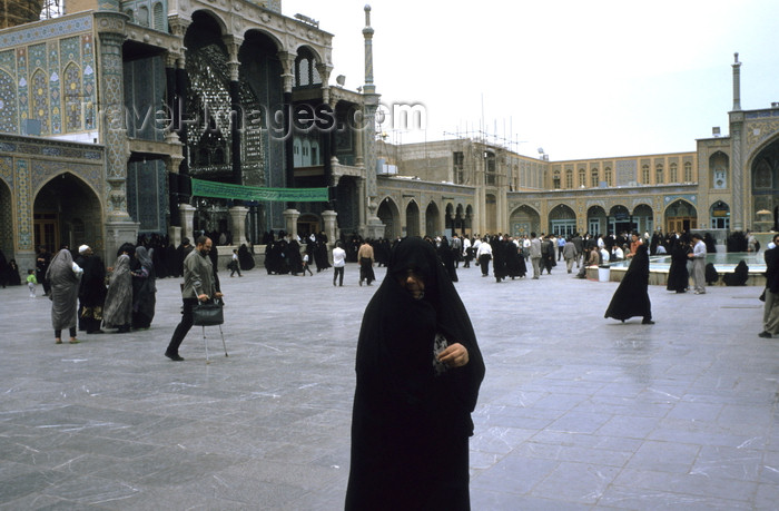 iran422: Iran - Qom: Fatima al-Masumeh Shrine, sister of Imam Reza - photo by W.Allgower - (c) Travel-Images.com - Stock Photography agency - Image Bank