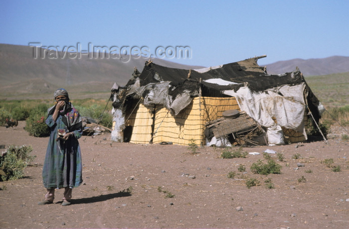 iran439: Iran - Kurdistan: dwelling of Kurdish nomads - photo by W.Allgower - (c) Travel-Images.com - Stock Photography agency - Image Bank