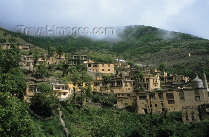 iran444: Iran - Masouleh / Masule - Gilan province: mountain village - cars are not allowed - Elburz mountain range - photo by W.Allgower - (c) Travel-Images.com - Stock Photography agency - Image Bank