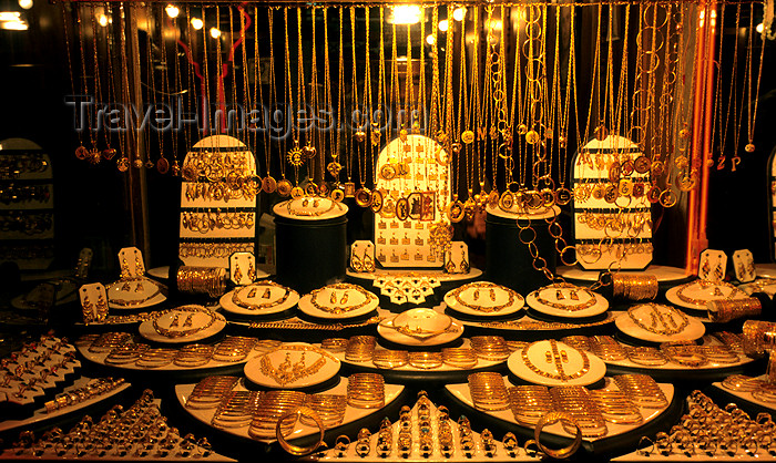 iran463: Iran: window of a Jewellery shop - gold - photo by W.Allgower - (c) Travel-Images.com - Stock Photography agency - Image Bank