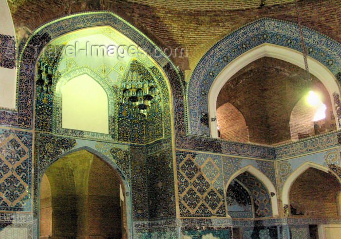 iran473: Tabriz - East Azerbaijan, Iran: Blue Mosque interior - Masjed-i Kabud - Göy mescid - photo by N.Mahmudova - (c) Travel-Images.com - Stock Photography agency - Image Bank