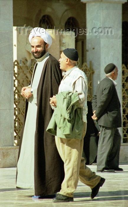 iran48: Iran - Isfahan / Esfahan: meeting a Shia cleric - iman - photo by J.Kaman - (c) Travel-Images.com - Stock Photography agency - Image Bank
