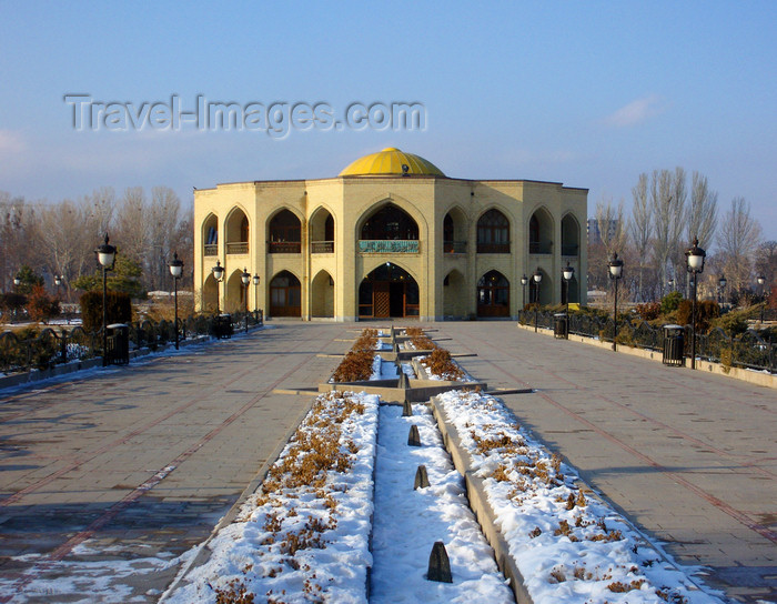 iran480: Tabriz - East Azerbaijan, Iran: Shah-goli / El-Goli park - Qadjar summer palace - photo by N.Mahmudova - (c) Travel-Images.com - Stock Photography agency - Image Bank