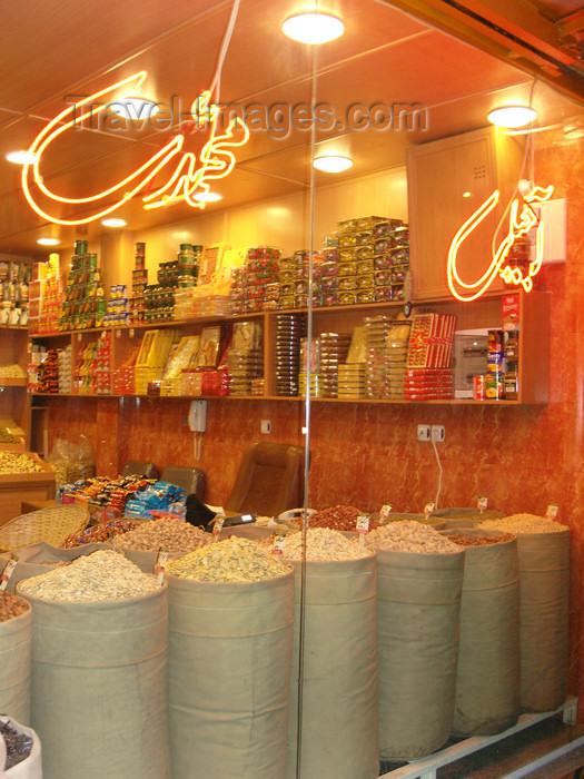 iran486: Tabriz - East Azerbaijan, Iran: sweets at the grand bazaar - photo by N.Mahmudova - (c) Travel-Images.com - Stock Photography agency - Image Bank