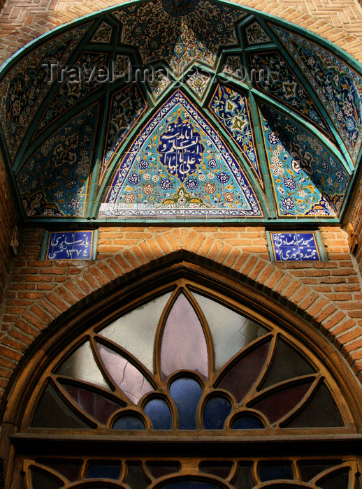 iran494: Tabriz - East Azerbaijan, Iran: Friday Mosque - vaulted door - photo by N.Mahmudova - (c) Travel-Images.com - Stock Photography agency - Image Bank