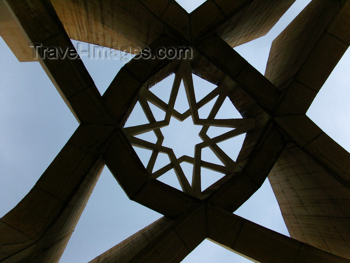 iran499: Tabriz - East Azerbaijan, Iran: Maqbaratoshoara - architecture and sky - poets mausoleum - photo by N.Mahmudova - (c) Travel-Images.com - Stock Photography agency - Image Bank