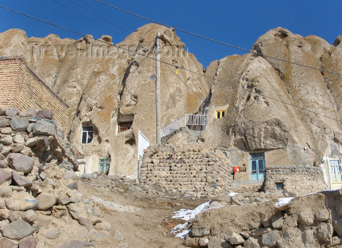 iran518: Kandovan, Osku - East Azerbaijan, Iran: rock 'architecture' - photo by N.Mahmudova - (c) Travel-Images.com - Stock Photography agency - Image Bank